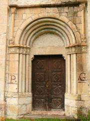 Eglise - Français:   Saint-Paul-sur-Ubaye - Eglise Saint-Pierre-et-Saint-Paul - Portail latéral
