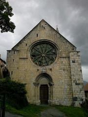 Eglise -  Alpes Haute-Provence Seyne-Les-Alpes Eglise Notre-Dame-Nazareth Portail Ouest
