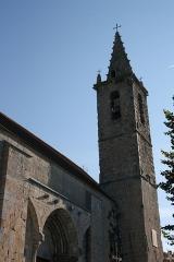 Eglise - Deutsch: Katholische Kirche Notre-Dame-de-Nazareth in Seyne, einer Gemeinde im Département Alpes-de-Haute-Provence in in der französischen Region Provence-Alpes-Côte d'Azur