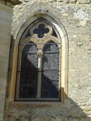 Eglise paroissiale Saint-Claude -       This file was uploaded  with Commonist.  Baie du chœur de Saint-Claude de Sigonce