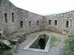 Citadelle - Français:   Citadelle de Sisteron - fortification intérieure