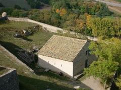 Citadelle - Français:   Citadelle de Sisteron - la poudrière de Vauban