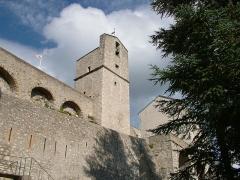 Citadelle - Français:   Citadelle de Sisteron - le donjon
