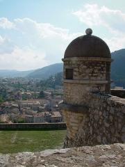 Citadelle - Français:   Citadelle de Sisteron - une échauguette