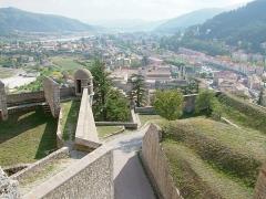 Citadelle - Français:   Citadelle de Sisteron - vue sur la ville