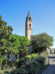 Eglise des Dominicains de la Baume - Français:   Clocher de l\'église de l\'ancienne abbaye Saint-Dominique de La Baume. Sisteron.