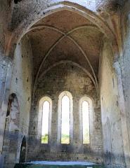 Eglise des Dominicains de la Baume - Français:   Sisteron - Eglise des Dominicains à la Baume - Choeur