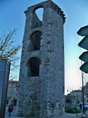 Enceinte (restes de l'ancienne) - Français:   Tour de l\'ancien rempart de Sisteron (04)