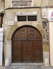 Maison - Français:   Maison natale de Jean Baptiste d\'Ornano à Sisteron
