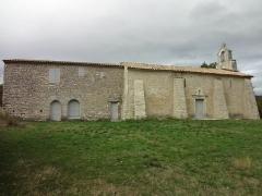Prieuré Notre-Dame-du-Largue -  Ensemble de la chapelle Notre-Dame-du-Largue de Villemus et de son ermitage