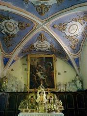 Eglise Saint-Laurent -  Hautes-Alpes Arvieux église catholique chœur
