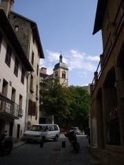 Chapelle des Pénitents Noirs - Italiano: La cittadina di Briançon, Francia