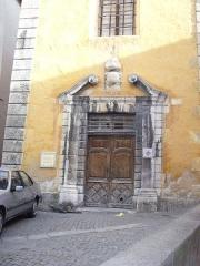 Couvent des Récollets  ou ancienne caserne du Muy - Italiano: La cittadina di Briançon, Francia