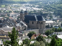Eglise paroissiale Notre-Dame, Saint-Nicolas (ancienne collégiale) -  Collégiale Notre-Dame, Briançon