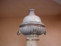 Fontaine des Soupirs - Italiano: Fontana detta di Francesco I°