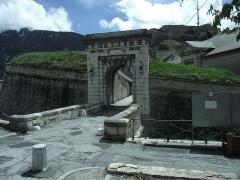 Anciennes fortifications de la Ville Haute -  Briancon.