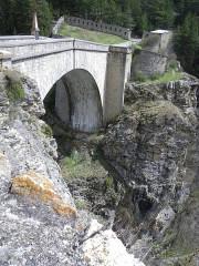 Pont d'Asfeld sur la Durance -  Briancon