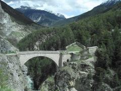 Pont d'Asfeld sur la Durance -  Fort du Chateau