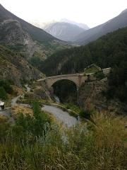 Pont d'Asfeld sur la Durance -  Hautes Alpes Briancon Pont Asfeld 14072013
