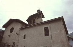 Eglise de la Vierge -  Hautes-Alpes Ceillac Eglise Saint-Sebastien 071986