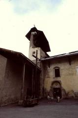 Eglise de la Vierge -  Hautes-Alpes Ceillac Eglise Saint-Sebastien Clocher 071986