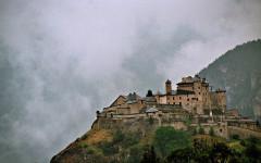 Fort de Château-Queyras -  Fort Queyras, Hautes-Alpes, Provence-Alpes-Côte d'Azur, France
