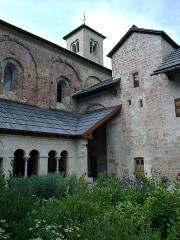 Ancienne abbaye de Boscodon -  Hautes-Alpes Abbaye Boscodon Cloitre