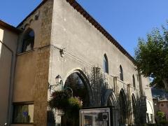 Couvent des Cordeliers - Français:   Embrun - Couvent des Cordeliers - Chapelles latérales de l\'église - Actuel office du tourisme