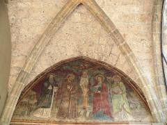 Couvent des Cordeliers - Français:   Embrun - Couvent des Cordeliers - Chapelles latérales de l\'église - Fresque