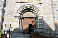 Eglise Notre-Dame (ancienne cathédrale) - Cathédrale Notre-Dame d'Embrun, portail occidental.