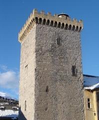 Ancien archevêché d'Embrun - Français:   ERmbrun (Hautes-Alpes): la Tour Brune