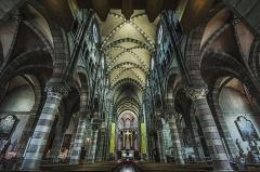 Cathédrale Saint-Arnoux - Italiano: Interno della Cattedrale Notre-Dame-et-Saint-Arnoux di Gap.