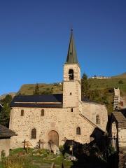 Ensemble religieux - Chapelle des pénitents à La Grave (Hautes-Alpes, France)