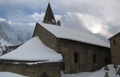 Ensemble religieux - Deutsch: Kirche von La Grave