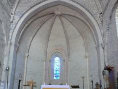 Eglise - Français:   Lagrand - Eglise - Abside
