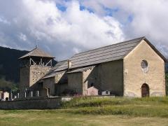 Eglise Saint-Romain -  église de Molines-en-Queyras