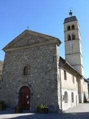Eglise des Guibertes - Français:   Le Monêtier-les-Bains - Eglise du hameau des Guibertes