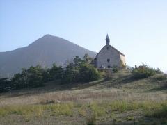 Chapelle Sainte-Philomène - English: Sainte-Philomène chapel( Montmaur, Hautes-Alpes, France)