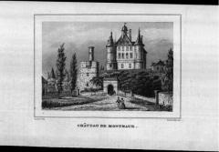 Château de Montmaur - This picture as been uploaded as part of L'Été des régions Wikipédia.