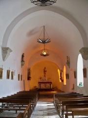 Prieuré - Prieuré,  (Classé Inscrit Classé, 1925 1986 1987): nef église