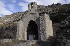 Eglise - Eglise Vieille de Saint-Crépin (Hautes Alpes)