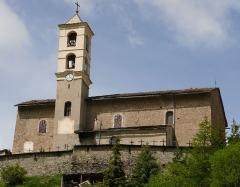 Eglise paroissiale Saint-Véran - Français:   Saint-Véran - Église Saint-Véran