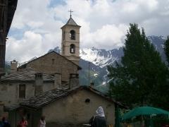 Eglise paroissiale Saint-Véran - Français:   L\'église de Saint-Véran dans le département des Hautes-Alpes.