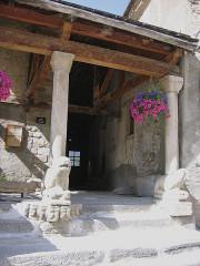 Eglise paroissiale Saint-Véran -  Saint-Véran, Hautes-Alpes, France