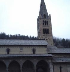 Eglise paroissiale Saint-Marcellin - Français:   Eglise Saint-Marcellin à La Salle-les Alpes