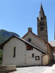 Eglise - Français:   Les Vigneaux - Eglise Saint-Laurent - Chevet