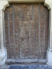 Eglise - Français:   Les Vigneaux - Église Saint-Laurent - Portail Réal: porte