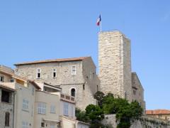 Château des Grimaldi, actuellement musée Picasso -  Antibes, Château Grimaldi