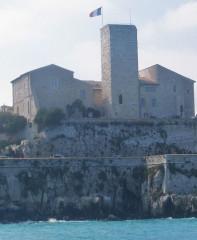 Château des Grimaldi, actuellement musée Picasso - English: grimaldi castle picasso museum Antibes