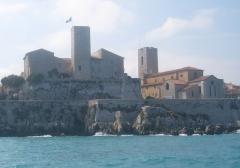 Château des Grimaldi, actuellement musée Picasso -  chateau grimaldi musee picasso cathedrale Antibes